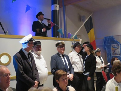 Winterfestival 2017 - Captains Dinner - Zaterdag 2 december 2017 - Sint-Anneke Centrum - Sint-Anna-ten-Drieënparochie, Antwerpen Linkeroever